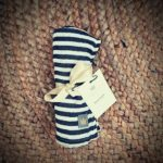 Sweet Little Crown Bamboo Swaddle – The Stripes