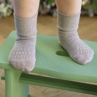 Go Baby Go Bamboo Non Slip Socks Sand