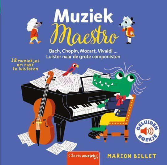 Geluidenboek Muziek Maestro