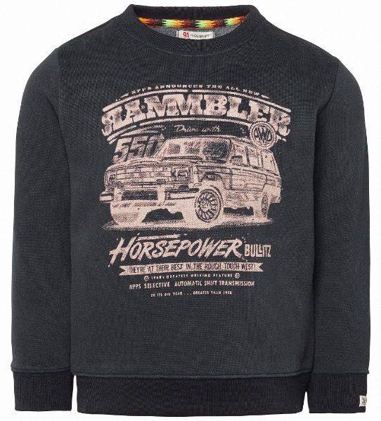 Noppies Sweater LS Baraki Blue Graphite