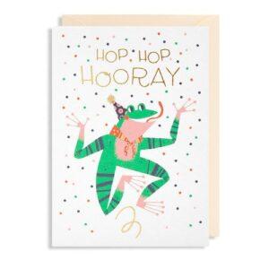 Dubbele Kaart Hop Hop Hooray