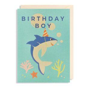 Dubbele Kaart Birthday Boy